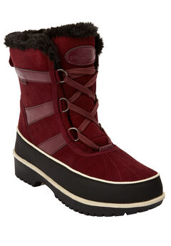 The Brienne Waterproof Boot , DEEP MERLOT