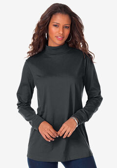 Long-Sleeve Mockneck Ultimate Tee,