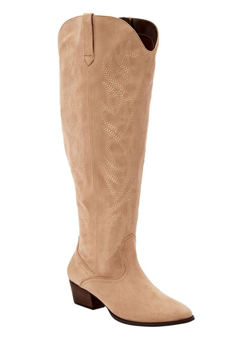 27035f82509 The Isabella Wide Calf Boot by Comfortview®