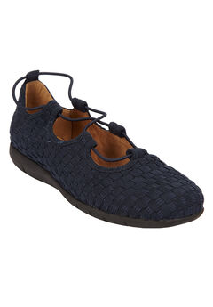 The Giana Flat by Comfortview®, NAVY, hi-res