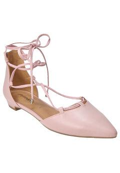 Dora Flats by Comfortview®, ROSE MIST, hi-res