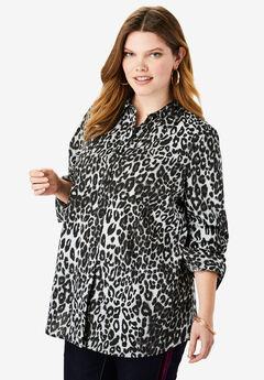 The Kate Shirt, GREY CLASSIC ANIMAL