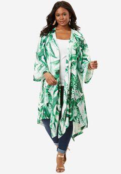 Kimono Duster Jacket, , hi-res