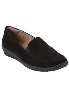 Adrianne Flat by Easy Spirit®, BLACK