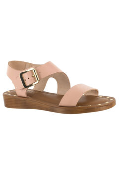 Luc-Italy Sandals by Bella Vita®, BLUSH LEATHER