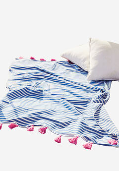 Striped Throw, STRIPE, hi-res