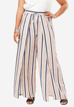 Flyaway Pull-On Pant, MULTI STRIPE, hi-res