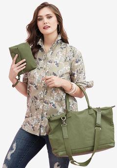 Weekender Bag Set, DARK BASIL, hi-res
