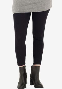 Knit Leggings by Castaluna, BLACK, hi-res
