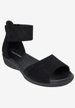 Alma Sandals by Comfortview®, BLACK, hi-res