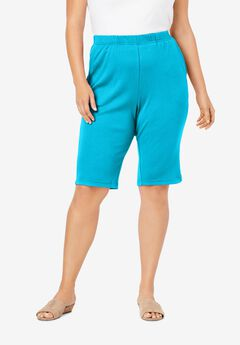 Soft Knit Bermuda Short, OCEAN