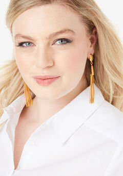 Fringe Drop Earrings,