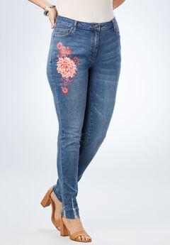 Floral Skinny Jean,