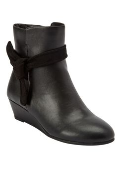 Marlow Bootie by Comfortview, BLACK, hi-res