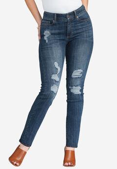 Distressed Jean by Denim 24/7®,