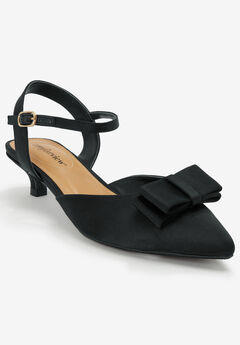The Martina Slingback by Comfortview®, BLACK
