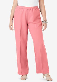 Bend Over® Wide-Leg Pant, CORAL BLUSH