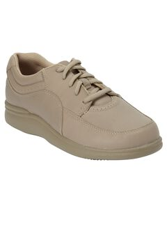 Power Walker Leather Sneakers by Hush Puppies®, TAUPE, hi-res