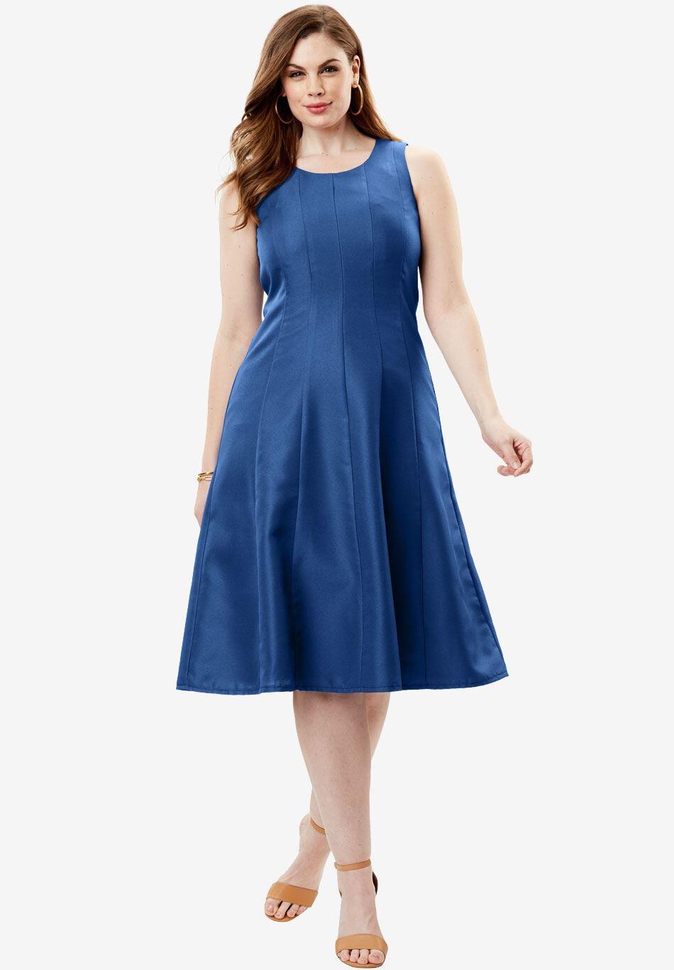 Plus Size Jacket Dresses for Women
