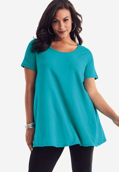 Scoopneck Trapeze Ultimate Tunic,