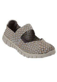 Pammi Mary Jane Sneaker by Comfortview®, BRONZE METALLIC MULTI, hi-res