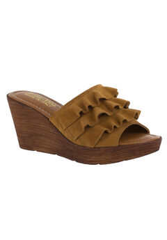 Bey-Italy Sandals by Bella Vita®, TOBACCO SUEDE