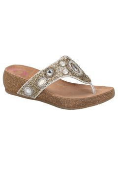 Sade Sandals by Comfortiva®, ANTHRACITE, hi-res