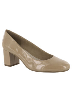 Proper Pumps by Easy Street®, NUDE PATENT, hi-res