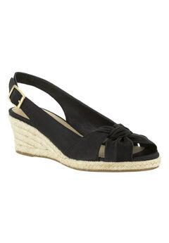 Seraphina II Sandals by Bella Vita®, BLACK SILK, hi-res