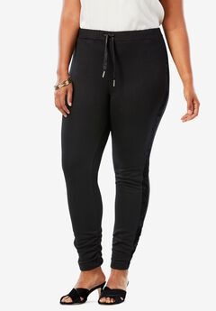 Velour Trim Legging,