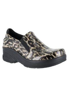 Appreicate Slip-Ons by Easy Works by Easy Street®, BEIGE LEOPARD, hi-res