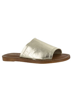 Ros-Italy Sandals by Bella Vita®, GOLD LEATHER, hi-res