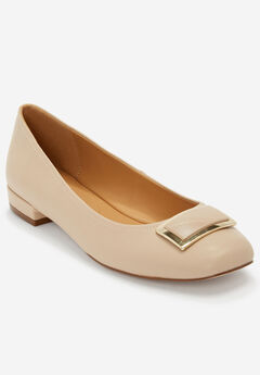 The Delilah Pump by Comfortview®, NEW NUDE