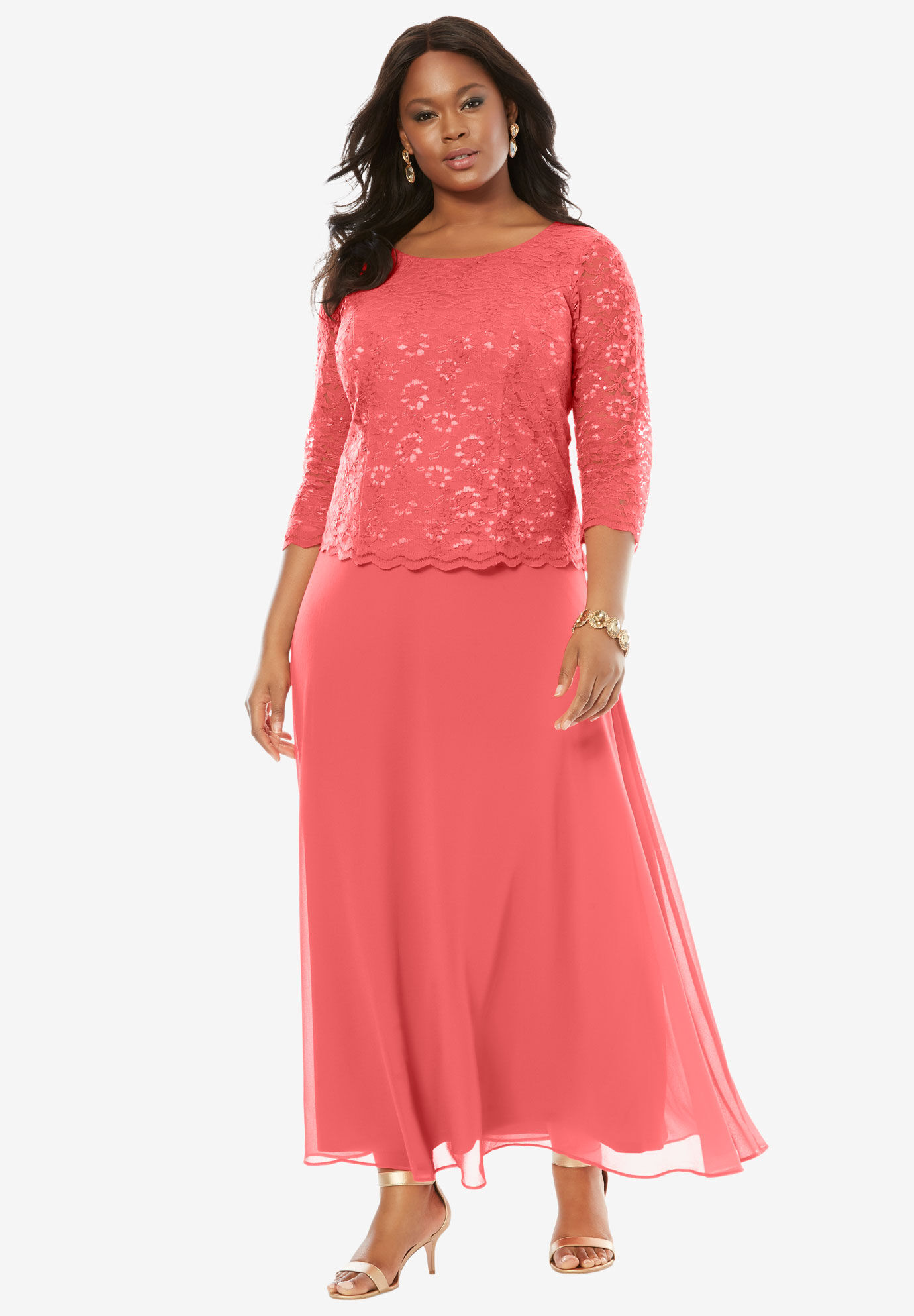 Plus Size Evening Dress for Women