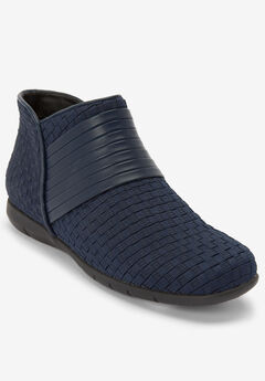 The Kayla Bootie by Comfortview®, NAVY, hi-res
