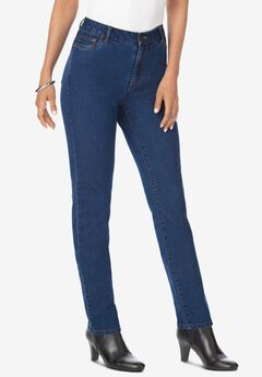 Skinny Jean with Invisible Stretch® by Denim 24/7®, MEDIUM WASH