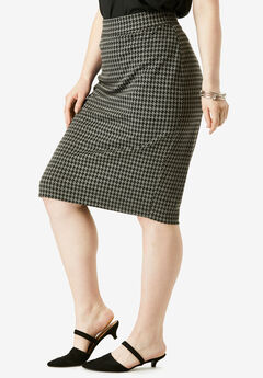 Ultimate Ponte Pencil Skirt,