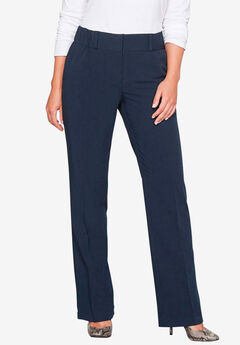 Straight Leg Trouser Jean by Castaluna, NAVY, hi-res