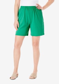 Soft Knit Short, TROPICAL EMERALD