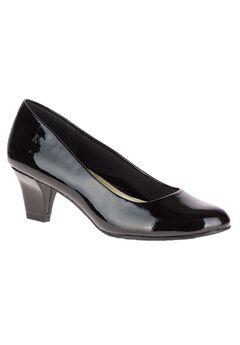 Gail Pumps by Soft Style, BLACK PATENT, hi-res