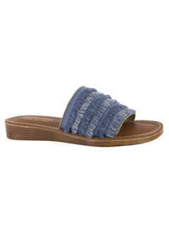 Abi-Italy Sandals by Bella Vita®, DENIM, hi-res