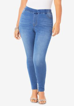 The Straight-Leg No-Gap Jean, LIGHT STONEWASH