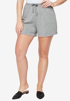Lounge Shorts, MEDIUM HEATHER GREY, hi-res