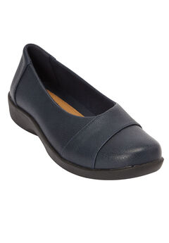 The Gab Flat by Comfortview®, NAVY, hi-res