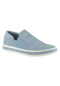 Switch II Sneakers by Bella Vita®, PALE BLUE SNAKE