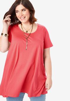 29aebf12ebfc Plus Size Tunics for Women | Roaman's