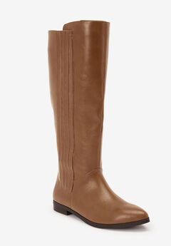 The Alecca Wide Calf Boot by Comfortview®,
