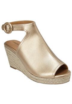 Jaydee Espadrilles by Comfortview®, GOLD, hi-res