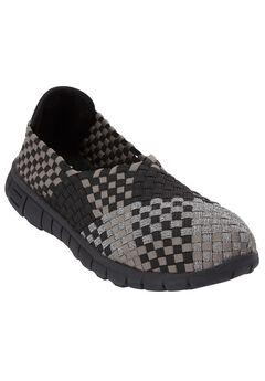 Ria Sneaker by Comfortview®, PEWTER METALLIC MULTI