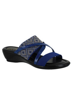 Palazzo Sandals by Easy Street®, ROYAL BLUE, hi-res